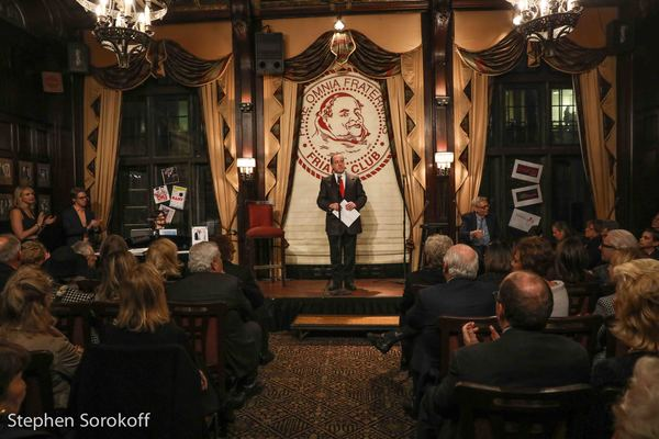 Bob Spiotto, Director of Programs, Friars Club