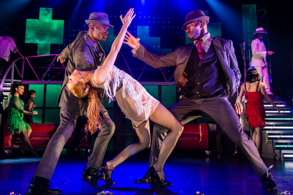 Photo Flash: First Look at the New Cast of THRILLER LIVE