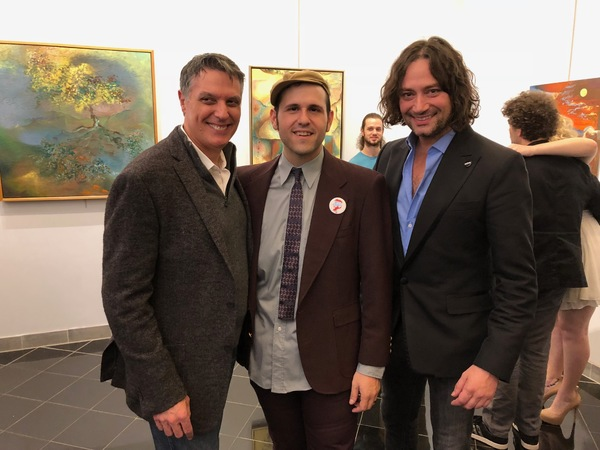Robert Cuccioli, Remember Jones and Constantine Maroulis at the Axelrod Performing Ar Photo