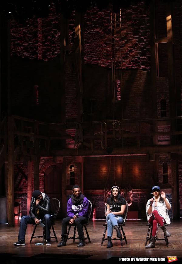 Nik Walker, Tyler McKenzie, Lauren Boyd and Sasha Hollinger   Photo