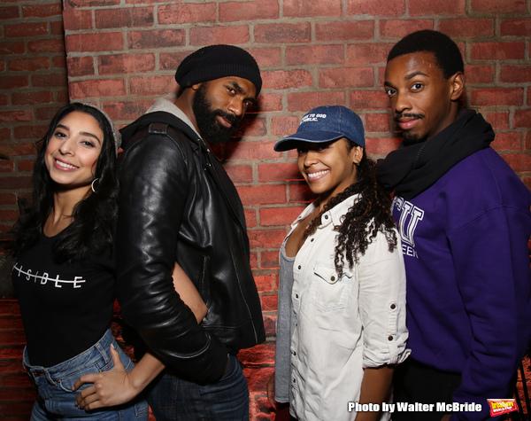 Lauren Boyd, Nik Walker, Sasha Hollinger and Tyler McKenzie  Photo