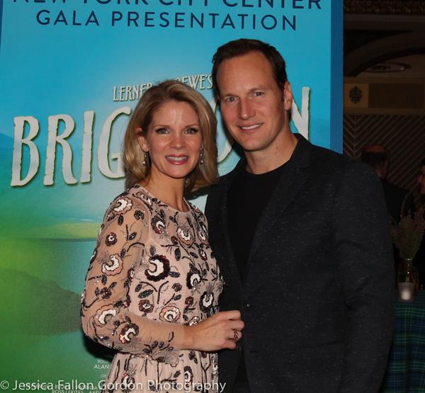 Kelli O'Hara and Patrick Wilson
