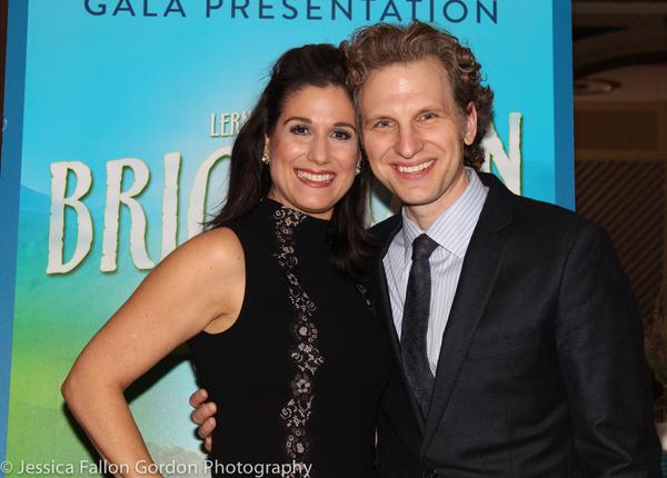 Stephanie J. Block and Sebastian Arcelus