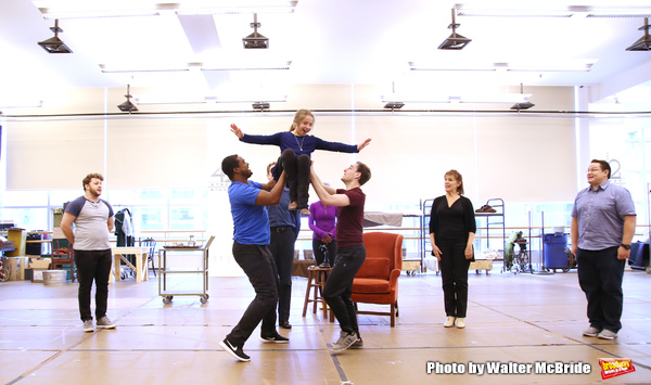 Photo Coverage: In Rehearsal with the Cast of ANNIE at Paper Mill Playhouse!