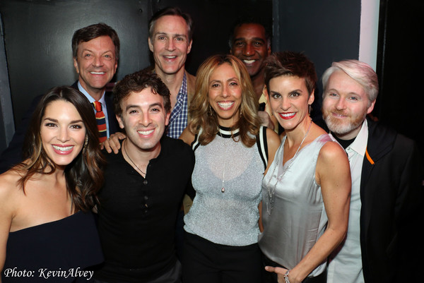 Jim Caruso, Howard McGillin, Norm Lewis, Kelli Barrett, Jarrod Spector, Amanda Green, Jenn Colella, Matt Gallagher