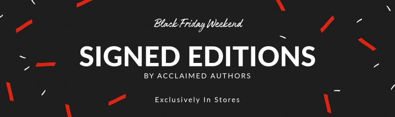 BWW Previews: Black Friday Signed Editions Return to Barnes And Noble Stores with over 150 Authors!