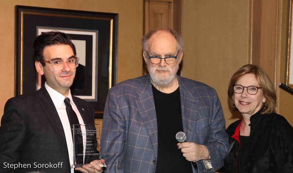 Joe Iconis, William Finn, Julianne Boyd, artistic director BSC