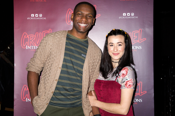 Photo Coverage: Carrie St. Louis, Constantine Rousouli, Lauren Zakrin and More Give a Sensual Sneak Peek at CRUEL INTENTIONS: THE MUSICAL