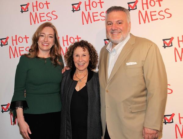 Una Jackman, Rhea Perlman and Jay Alix