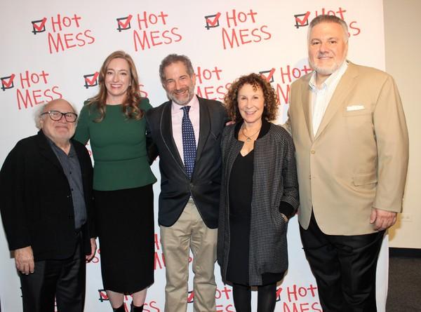 Danny Devito, Una Jackman, Jonathan Silverstein, Rhea Perlman and Jay Alix