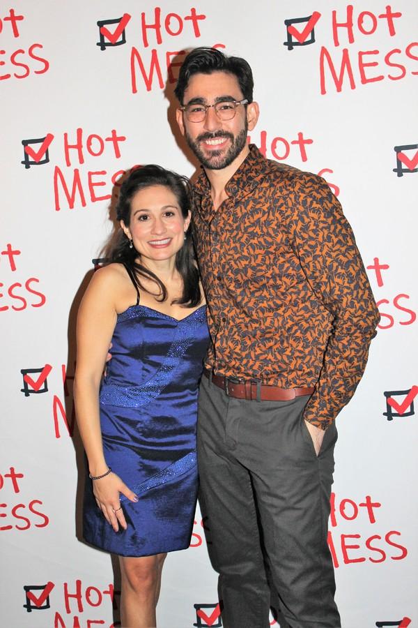 Lucy DeVito and Max Crumm