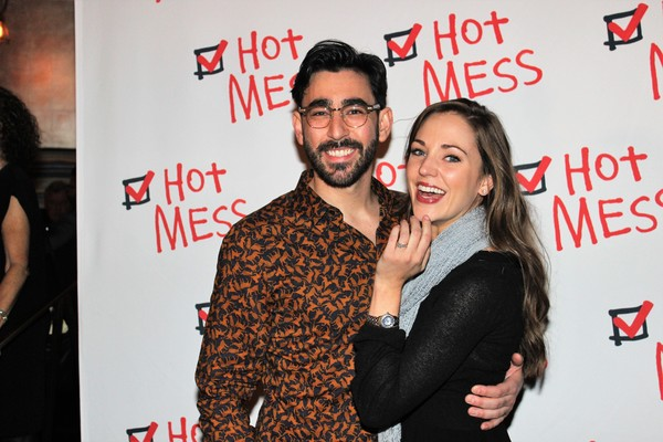 Max Crumm and Laura Osnes