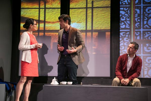 Lydia Gaston, Pun Banhu and Alan Ariano