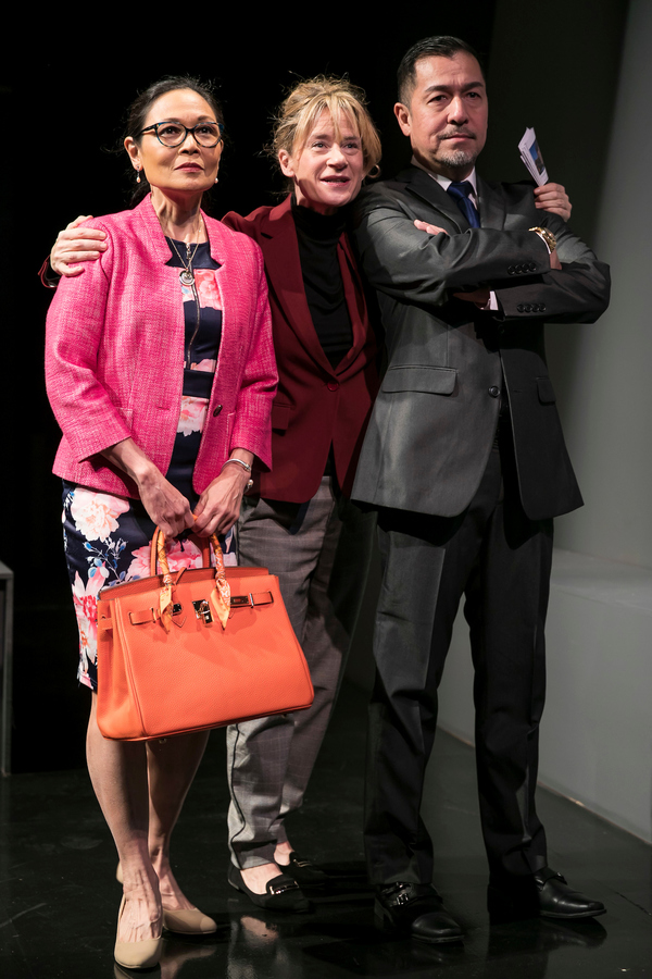 Lydia Gaston Helen Coxe and Alan Ariano