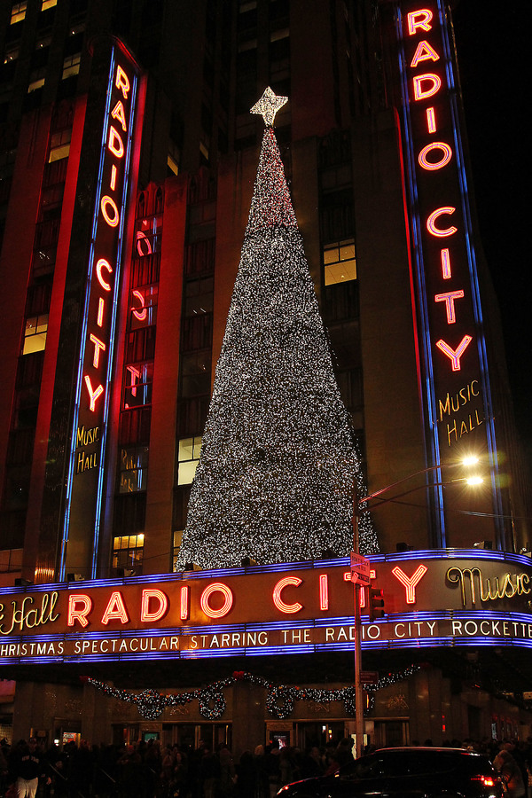 Radio City on opening night of the 2017 CHRISTMAS SPECTACULAR STARRING THE ROCKETTES