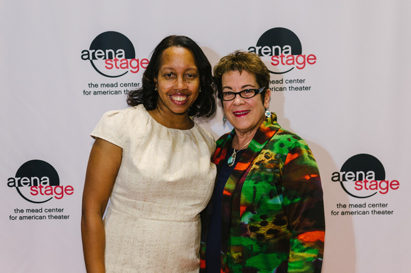 Playwright Christina Ham and Artistic Director Molly Smith