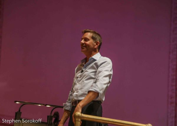 Photo Coverage: Adam Kantor & Betsy Wolfe Rehearse with Steven Reineke For Tonight's NY Pops Concert