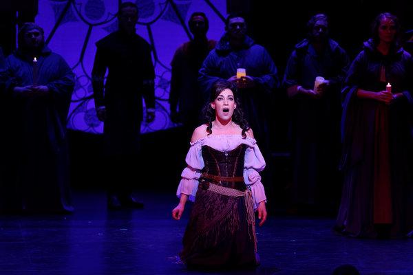 Catherine Carpenter Cox as Esmeralda