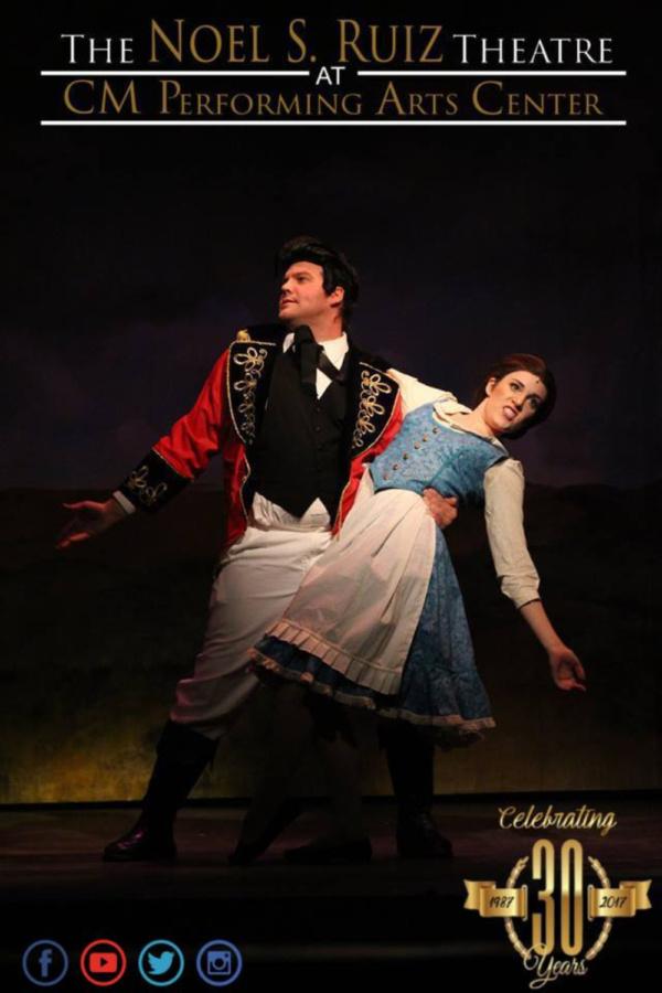 Gaston (Corey Martin), Belle (Katie Ferretti)