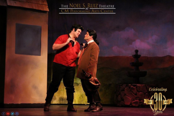Gaston (Corey Martin), LeFou (Ronnie Green)