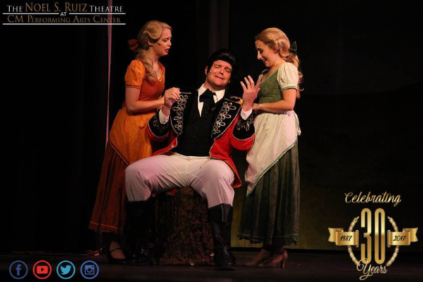 Gaston (Corey Martin) and the Silly Girls