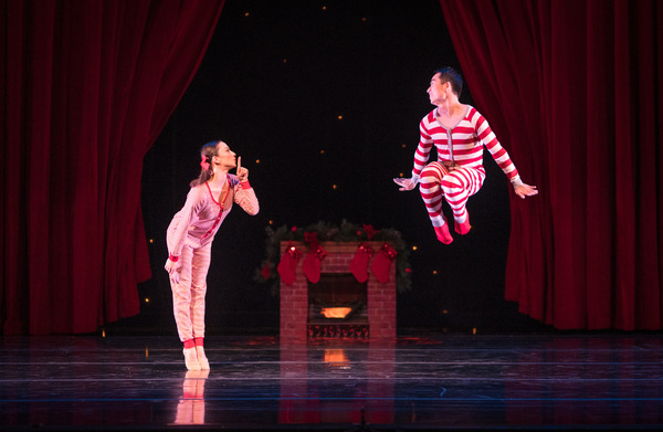 Smuin dancers Terez Dean and Mengjun Chen in The Christmas Song, choreographed by Smuin dancer Erica Felsch, part of Smuin's annual The Christmas Ballet touring the Bay Area now through December 24.