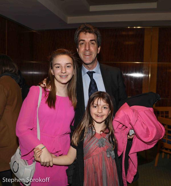 Jason Robert Brown & family