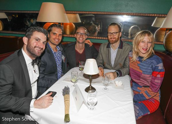 Photo Coverage: Betsy Wolfe, Adam Kantor, & Maestro Steven Reineke Celebrate at the WOMEN OF NOTES Concert Cast Party