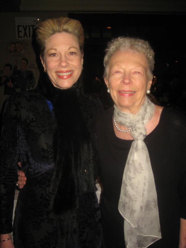 Marin Mazzie & mother Donna