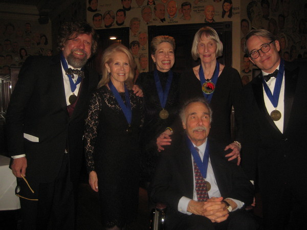 Photo Flash: Matthew Broderick, Marin Mazzie, William Ivey Long, and More Inducted Into Theater Hall of Fame
