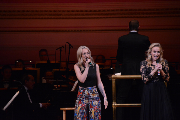 Ingrid Michaelson and Betsy Wolfe