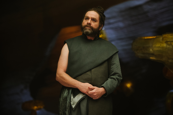 Zach Galifianakis is The Happy Medium in Disney's A WRINKLE IN TIME.
