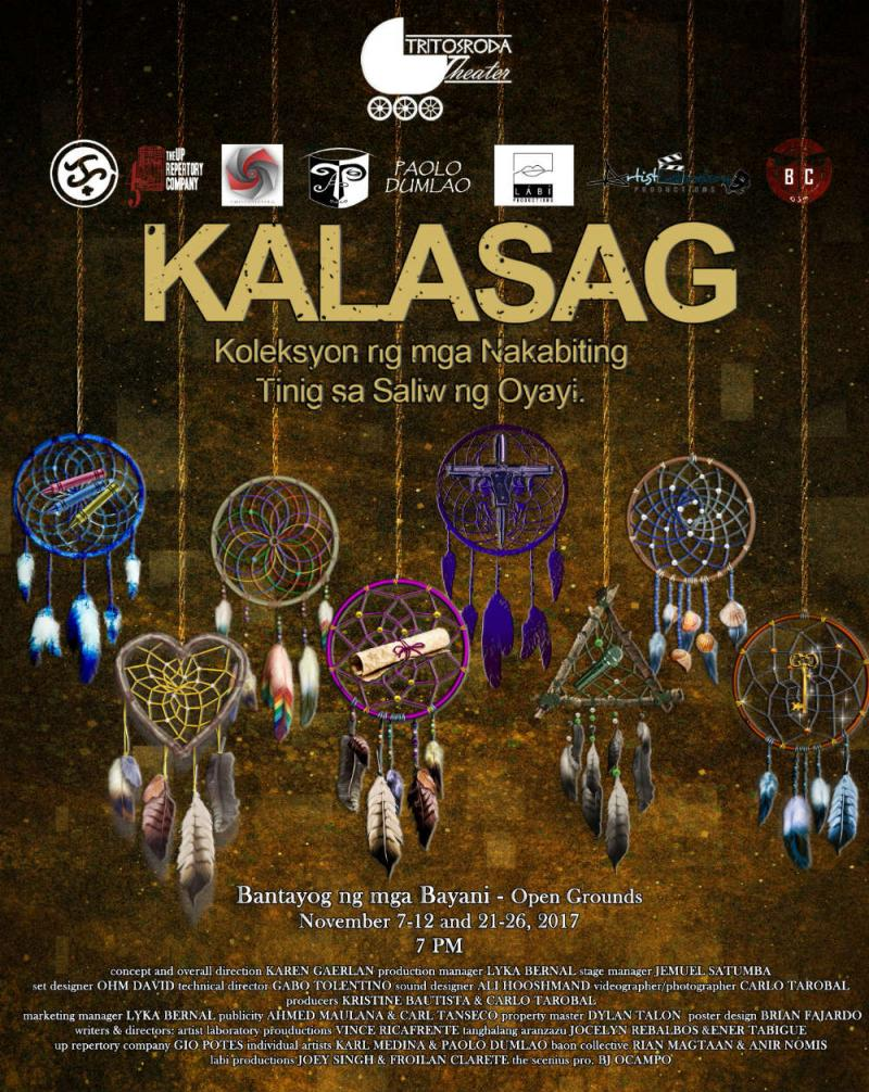 Tritosroda Theater Stages KALASAG (Dream Sequences) This Week, 11/21-26