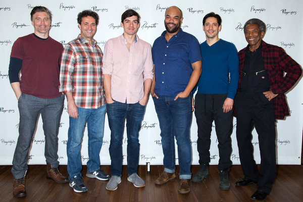 Anson Mount, Stephen Schnetzer, Bobby Moreno, David Ryan Smith, Ariel Shafir, Andre De Shields