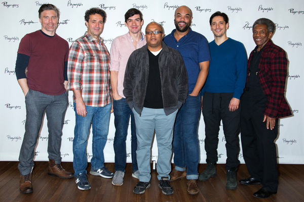 Anson Mount, Stephen Schnetzer, Bobby Moreno, Robert O'Hara, David Ryan Smith, Ariel Shafir, Andre De Shields