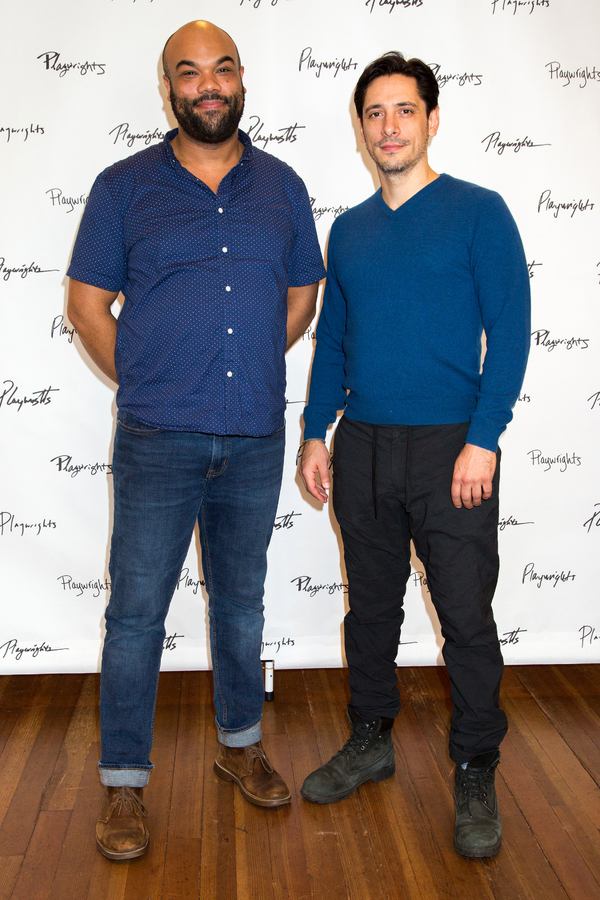 Photo Coverage: Meet the Company of Playwrights Horizons' MANKIND