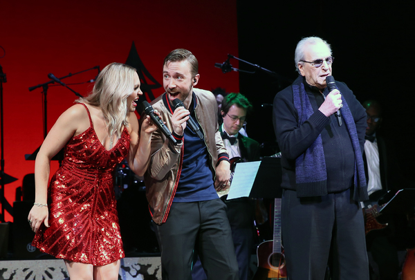 Evynne Hollens, Peter Hollens, and Danny Aiello Photo