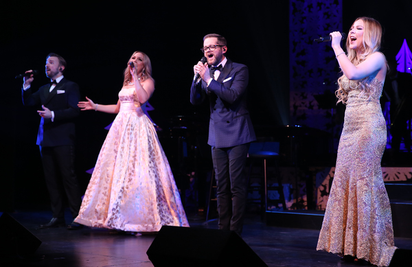 Peter Hollens, Evynne Hollens, Josh Kaufman, and Bianca Ryan Photo