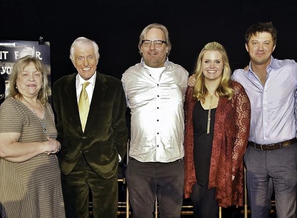 Susan King, Dick Van Dyke, Dan Harmon, Christina Wise and Jason Wise