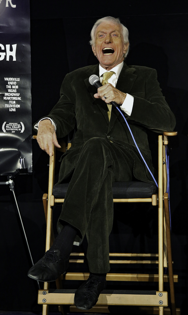 "Dick Van Dyke answers questions from patrons at The Egyptian Theater about ""Wait For Your Laugh"""
