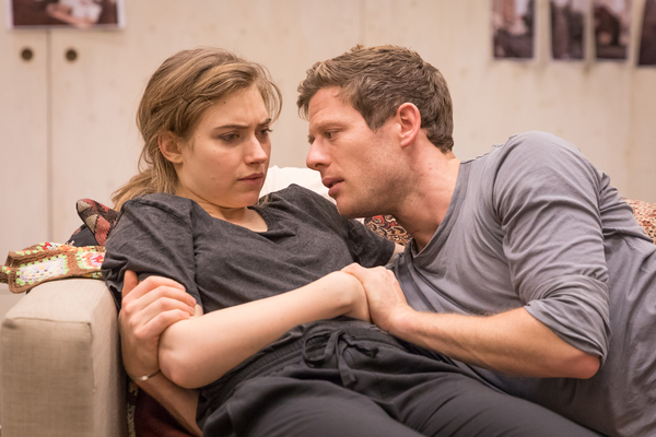 Photos: James Norton and Imogen Poots in Rehearsal for BELLEVILLE at The Donmar Warehouse