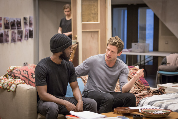 Malachi Kirby and James Norton Photo