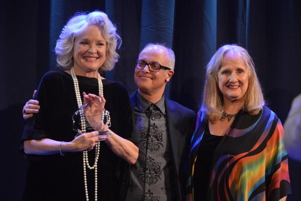 Christin Daniel and Nancy Rhodes with Christine Ebersole