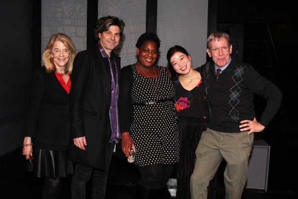 Frances Hill, John Giampietro, Antionette Mullins, Zhu Yi and Peter Napolitano