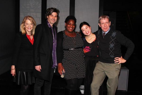 Frances Hill, John Giampietro, Antionette Mullins, Zhu Yi and Peter Napolitano