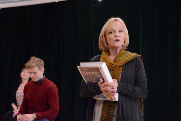 Andrew Keenan-Bolger and Cathy Rigby