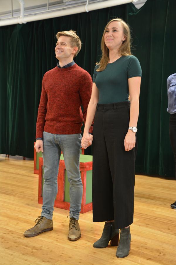 Andrew Keenan-Bolger and Samantha Hill