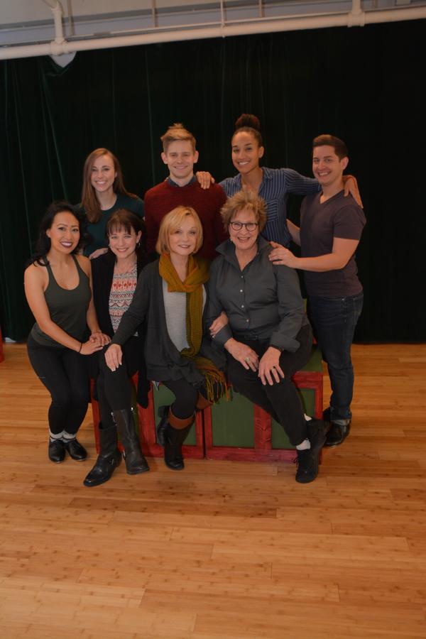 Jackie Nguyen, Samantha Hill, Kim Crosby, Cathy Rigby, Andrew Keenan-Bolger, Pamela Myers, Matt Densky and Gabrielle McClinton