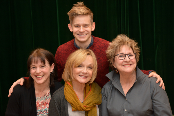 Kim Crosby, Cathy Rigby, Pamela Myers and Andrew Keenan-Bolger