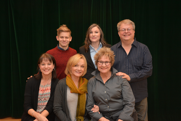 Kim Crosby, Cathy Rigby, Pamela Myers, Andrew Keenan-Bolger, Maria Ciampi and Charles Eversole